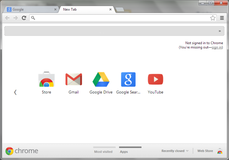 How to change the default new page in Chrome.1